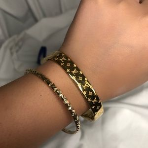 ✨ Authentic ✨ LV Nanogram Cuff
